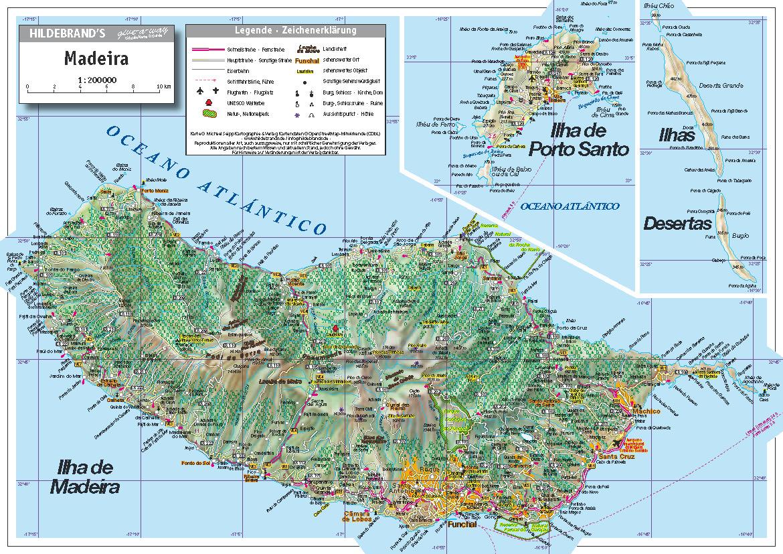 Ibiza Karte Ausdrucken.Michael Seipp Verlag Madeira